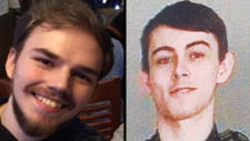 Kam McLeod, 19, and Bryer Schmegelsky, 18, right, from Port Alberni on Vancouver Island were reported missing on July 19. (B.C. RCMP)