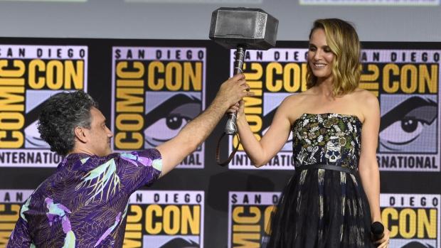 Natalie Portman and Taika Waititi