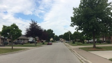 Officers were called to the 1300 block of Hansen Crescent at 2 a.m. on Monday, July 22, 2019. (Stefanie Masotti / CTV Windsor)