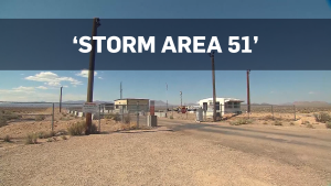 Facebook users say they'll storm Area 51