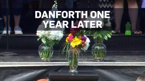 Toronto memorial marks one year since Danforth sho