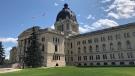 Pictured: Saskatchewan Legislative Building, July 2019. (Brendan Ellis / CTV Regina).
