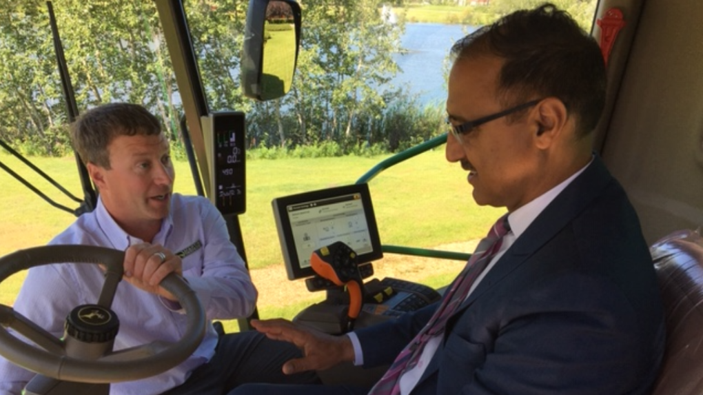 Farming of the future? Ottawa invests big in agriculture automation