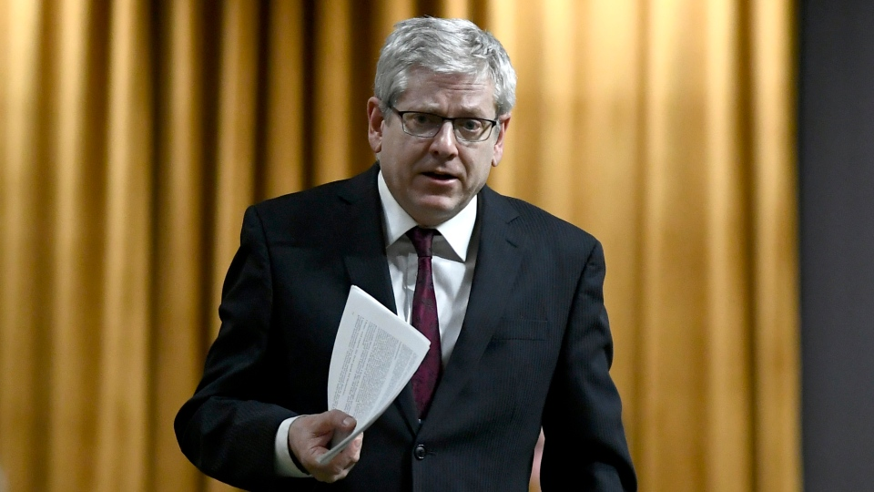 NDP MP Charlie Angus speaks during an emergency debate in the House of Commons on Parliament Hill in Ottawa on Thursday, Feb. 28, 2019. (THE CANADIAN PRESS/Justin Tang)