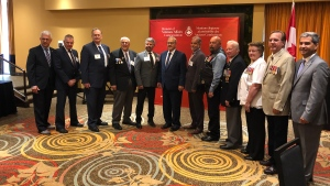 Nine Canadians have received the Minister of Veteran Affairs Commendation for outstanding service to veterans and dedication to remembrance (photo: Scott Prouse / CTV Montreal)