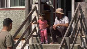 Since the fire, the family has stayed at Nanaimo's Travelodge hotel, and will now stay with friends until a permanent solution is found. (CTV Vancouver Island)