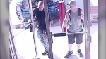 Anyone who recognizes the suspects pictured above is asked to call Nanaimo RCMP. (Nanaimo RCMP)