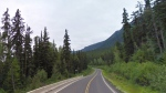 A stretch of the Stewart-Cassiar Highway is seen in this undated Google Maps image.