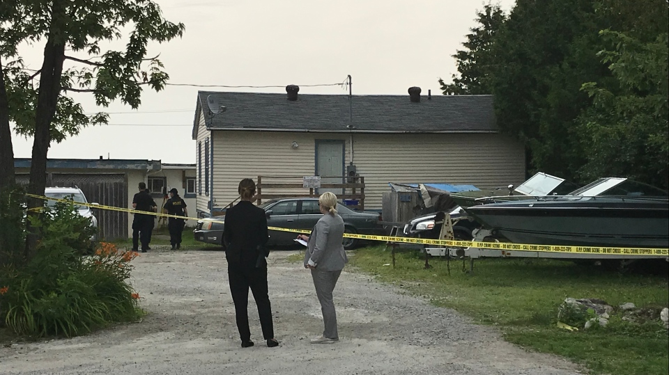 On Friday July 19th the body of 45-year-old Tracey Reid was discovered at the Silver Swan Complex in Orillia, Ont. (CTV Barrie Aileen Doyle)