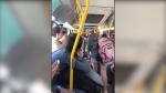 Bus attack tinged with racism: witnesses