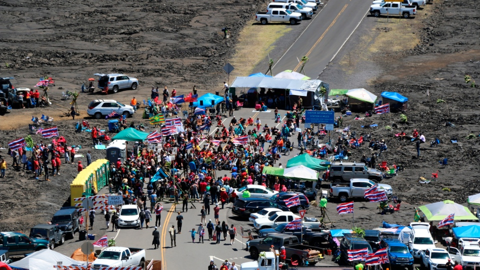 Hawaii protest