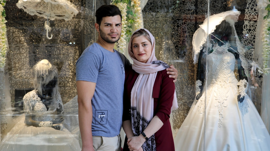 Married couple in Iran