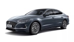 Hyundai's 2020 Sonata Hybrid will feature a solar roof. (Courtesy of Hyundai)