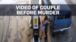 Gas station footage shows couple before murder