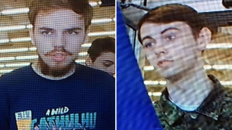 Kam McLeod (left) and Bryer Schmegelsky are now considered suspects in three suspicious deaths in B.C. (RCMP)