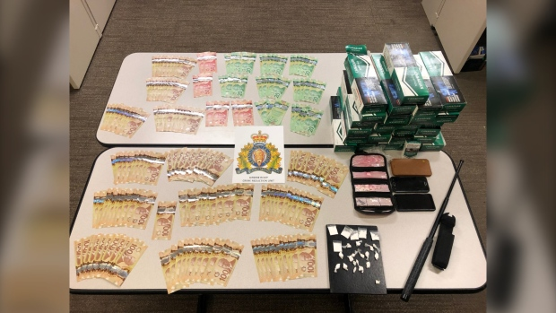 Airdrie drug bust
