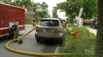Halifax firefighters smash SUV windows to access h