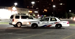 Police are investigating after a man was reportedly robbed of his dog and phone in Scarborough. (Mike Nguyen/ CP24)