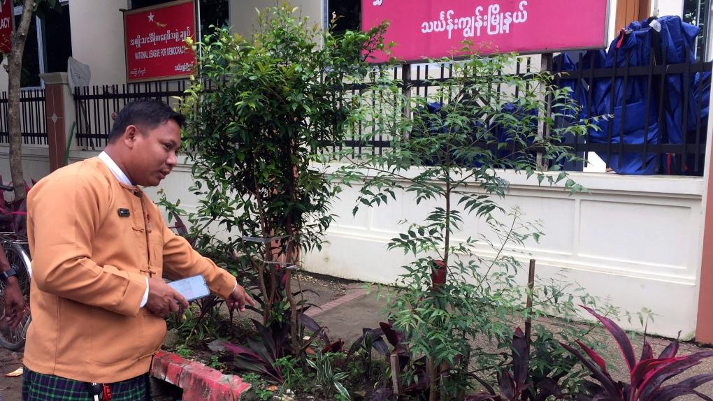 Myanmar grenade