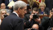 Former special counsel Robert Mueller arrives
