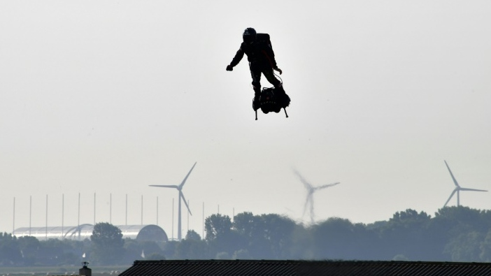 French 'flyboard' daredevil to make new English Channel bid