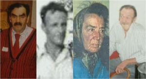 John Crofts, left, John Semple, Joan Lawrence and Ralph Grant, right, went missing in the late 1990s in the Muskoka region. (Police handout)
