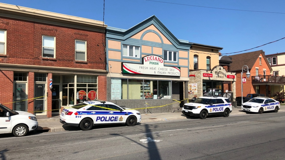 Ottawa Police are investigating after a fetus was found on the sidewalk in Little Italy Thursday morning.