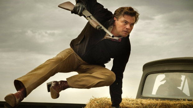 Leonardo DiCaprio in Quentin Tarantino's 'Once Upon a Time in Hollywood.' (Andrew Cooper / Sony-Columbia Pictures via AP)
