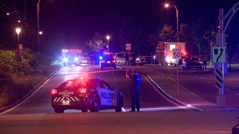 Laval police officer killed in motorcycle crash | CTV News