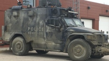 TAV vehicle in Gillam