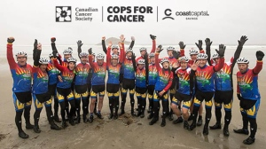 Cops for cancer coast