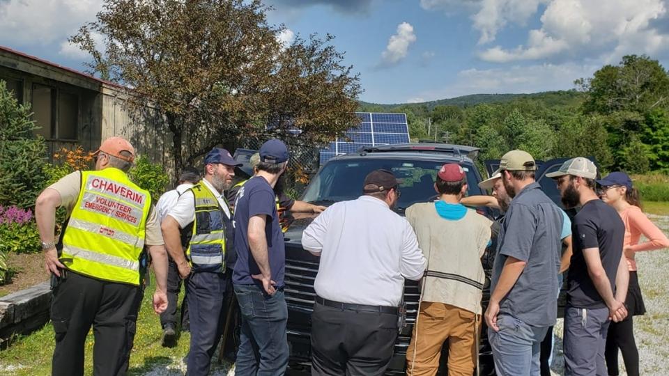 Hatzoloh Montreal search crews