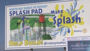 North Bay Rotary Splash Pad