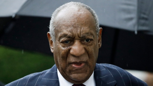 In this Sept. 25, 2018, file photo, Bill Cosby arrives for his sentencing hearing at the Montgomery County Courthouse in Norristown Pa. (AP Photo/Matt Rourke, File)