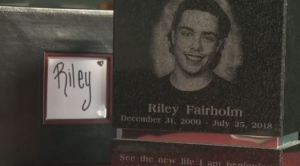 Riley Fairholm was fatally shot by SQ officers on July 25, 2018.