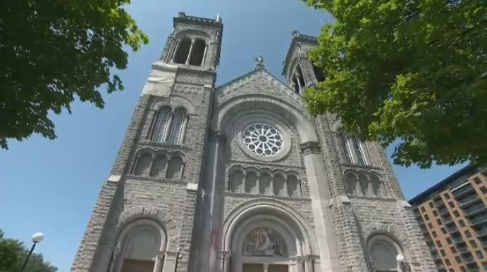 The Tres-Saint-Sacrament Church in Quebec City