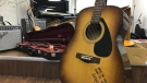 Musical instruments have been donated to the Cabbage Town Community Arts Centre. (Sean Leathong/CTV News TOronto)