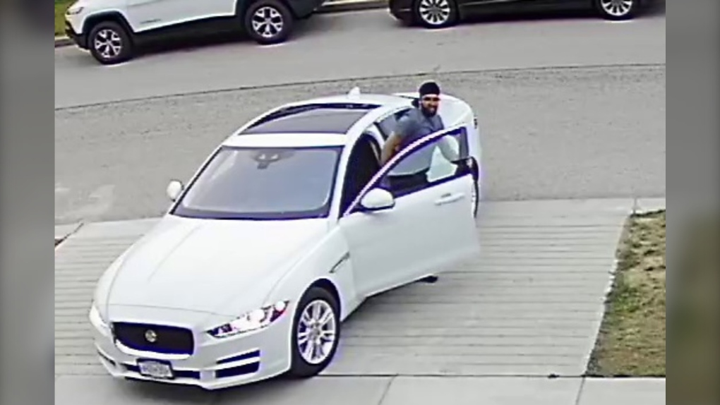 Suspect wanted after sex assault in woman's front yard: Surrey RCMP