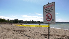 Kits Beach closed to swimming