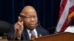 This file photo from April 2, 2019, shows House Oversight and Reform Committee Chair Elijah Cummings. Cummings' majority-black Baltimore district was insulted by Trump this week. (AP Photo/J. Scott Applewhite)