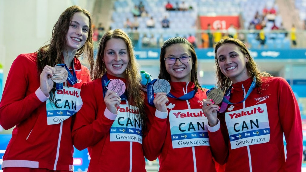 Relay bronze gives Masse most career medals by Canadian female swimmer