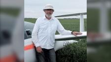 Allan Wood Glider pilot