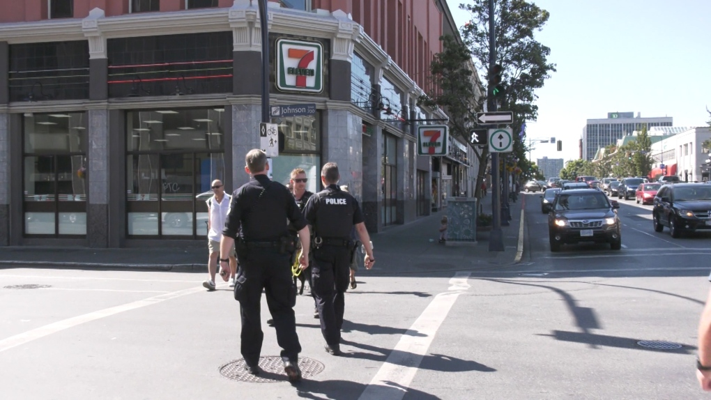 Victoria police robbery