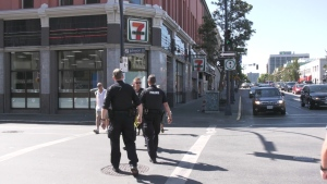 Customers who have been inside the Victoria 7-Eleven store between Aug. 10 and Aug. 14 are advised to call 811 for medical guidance. (CTV News)