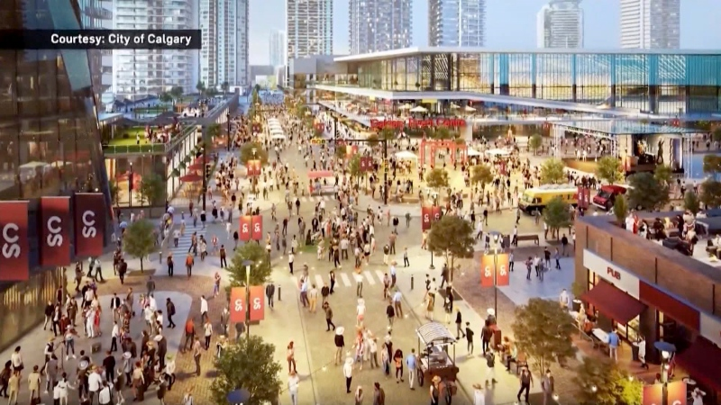 A deal has been signed between the city, Calgary Flames and Calgary Stampede for construction of a new arena.