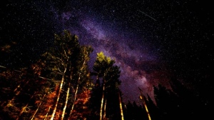 Milky Way at Falcon Lake. Photo by Jason Paterson.