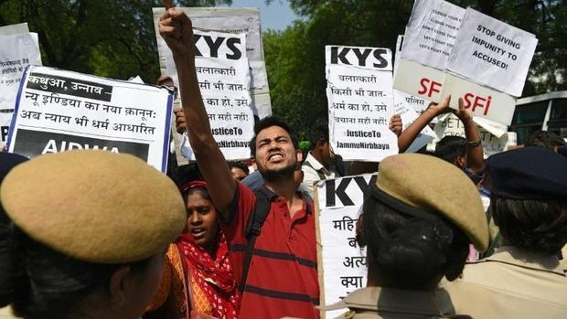 india sex crimes protests