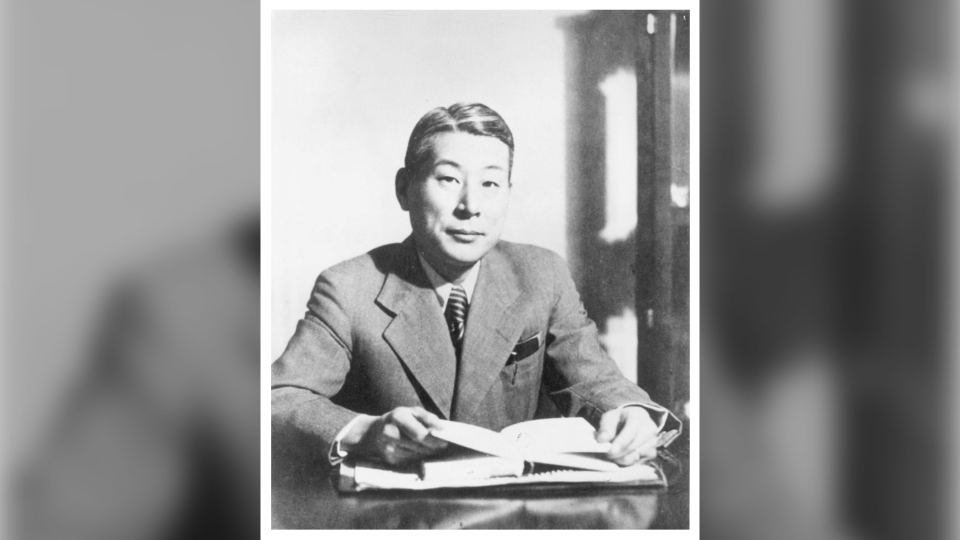 Chiune Sugihara is seen in this undated archive photo (Yad Vashem photo archives)