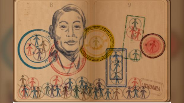 chiune sugihara google doodle