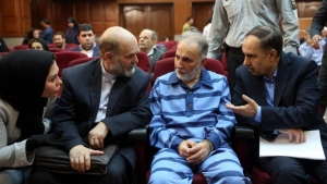Former Tehran mayor Mohammad Ali Najafi was sentenced to death after being convicted of murdering his wife. (AFP)